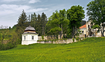 The Tower of Carmelite Monastery in the Vienna Woods