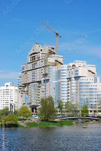 City landscape of Minsk