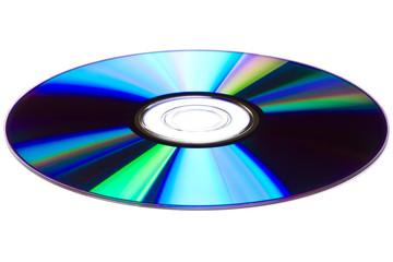 CD/DVD disk over white