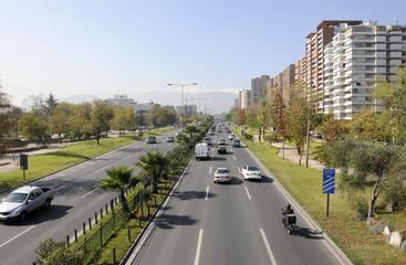 La ciudad de Santiago, Chile