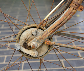 Break  the old bike