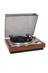Old wooden vinyl player