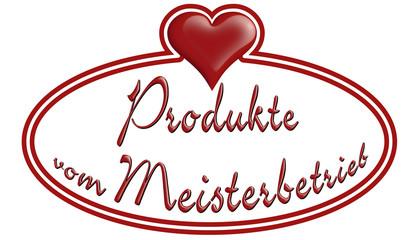 Produkte vom Meisterbetrieb
