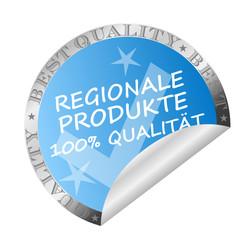 Sticker- regionale Produkte 100% Qualität