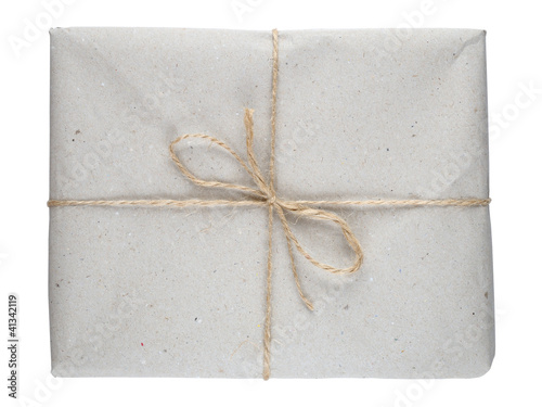 Package isolated on white background