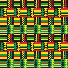 African Zig Zag Pattern