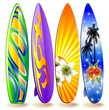 Tavola da Surf-Surfboars Design Inspiration-Sport-Vector