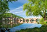 Fototapety Am Ufer des Neckar