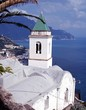 Church on the coast, Lone, Amalfi Coast, Italy © Arena Photo UK