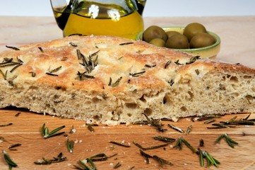 Italian Focaccia bread © Arena Photo UK