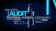 Audit evaluation tag cloud animation video