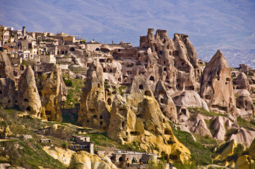 Village d'Uchisar - Cappadoce, Turquie