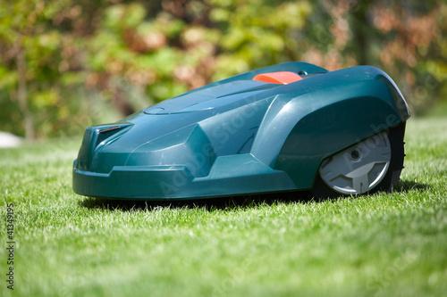 Rasen Roboter im Garten - 41349195