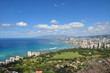Blick auf Honolulu vom Diamond Head Crater - Hawaii, USA