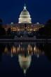 Washington DC - US Capitol building at night