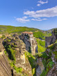View of Varlaam monastery, Meteora, Greece