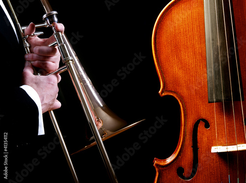 Brass and stringed instruments