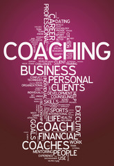 "Word Cloud ""Coaching"""