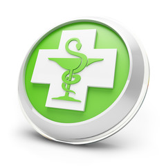 Pharmacy icon green