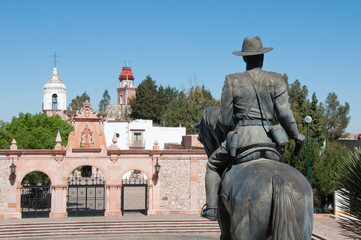 Revolution square, La Bufa hill (Zacatecas-Mexico)
