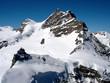 Jungfraujoch und Jungfrau, Querformat