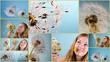 Collage: Ich wünsche mir .....