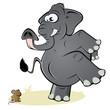 elefant maus angst