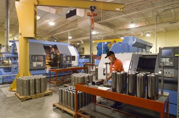 Quality control in machine shop
