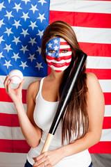 American baseball fan