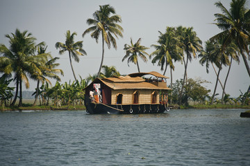 backwaters in alleppey, kerala
