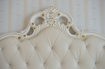 luxury bed detail
