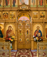 Holy Trinity Convent of Mercy, etc. Saraktash. View inside