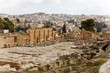 the ruins of ancient jerash in jordan