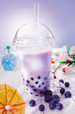 Fototapety Bubble tea with berries