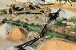 Photo aérienne entreprise de granulats
