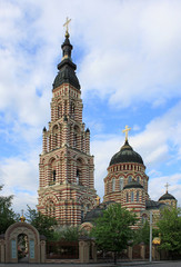 Annunciation Cathedral in Kharkiv, Ukraine