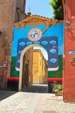 Fototapety Alleyway. Dozza. Emilia-Romagna. Italy.