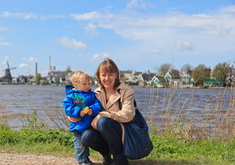 Family in holland village