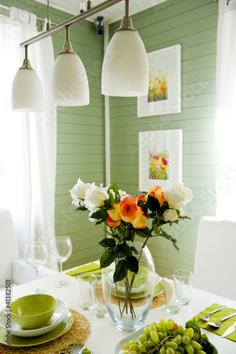 Dining room interior