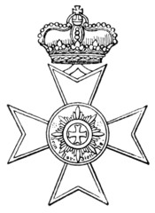 Order of Merit. (Waldeck, Germany, 1857)