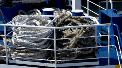 corde per ormeggio nave