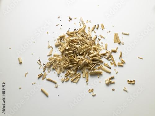 wood chips - trucioli di legno
