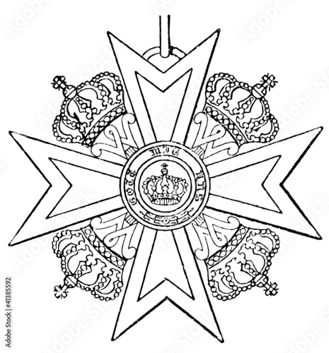 Order of Merit of the Prussian Crown (Prussia, 1901)