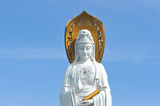 Closeup Of Goddess Of Mercy, Guanyin