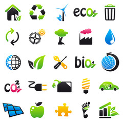 ecology Color & Black Icon