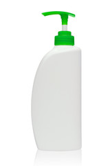 Foam Pump Bottle White, Green