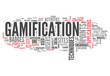 """Word Cloud """"Gamification"""""""