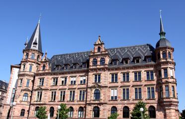 Rathaus in Wiesbaden, Hesse, Germany