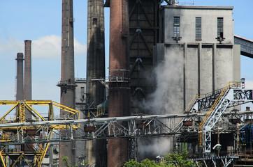 Impianto di produzione del carbone coke