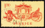 Postage stamp Sweden 1978 Coronation Coach, 1699 poster